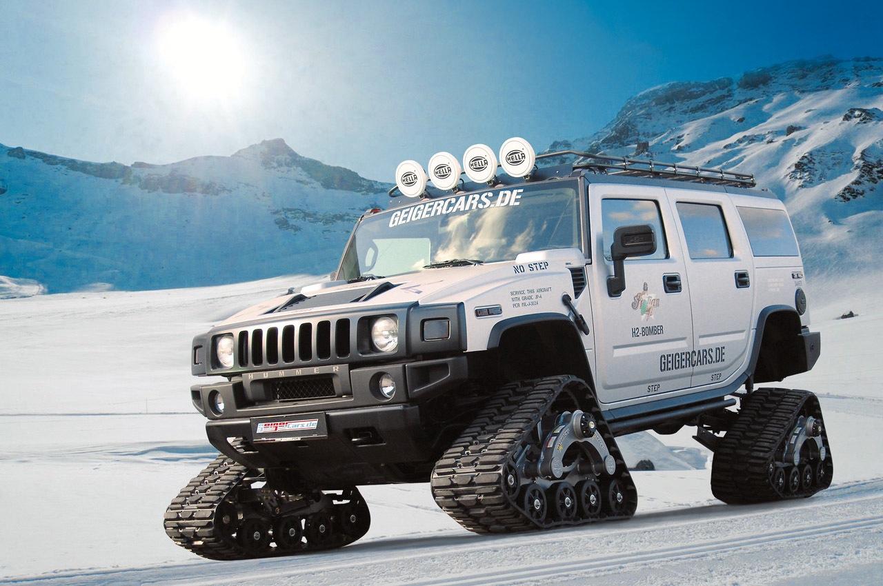 Специалисты «GeigerCars» превратили Hummer H2 в танк