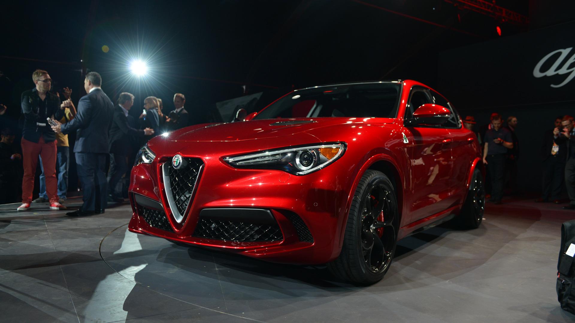 Новый кроссовер Alfa Romeo
