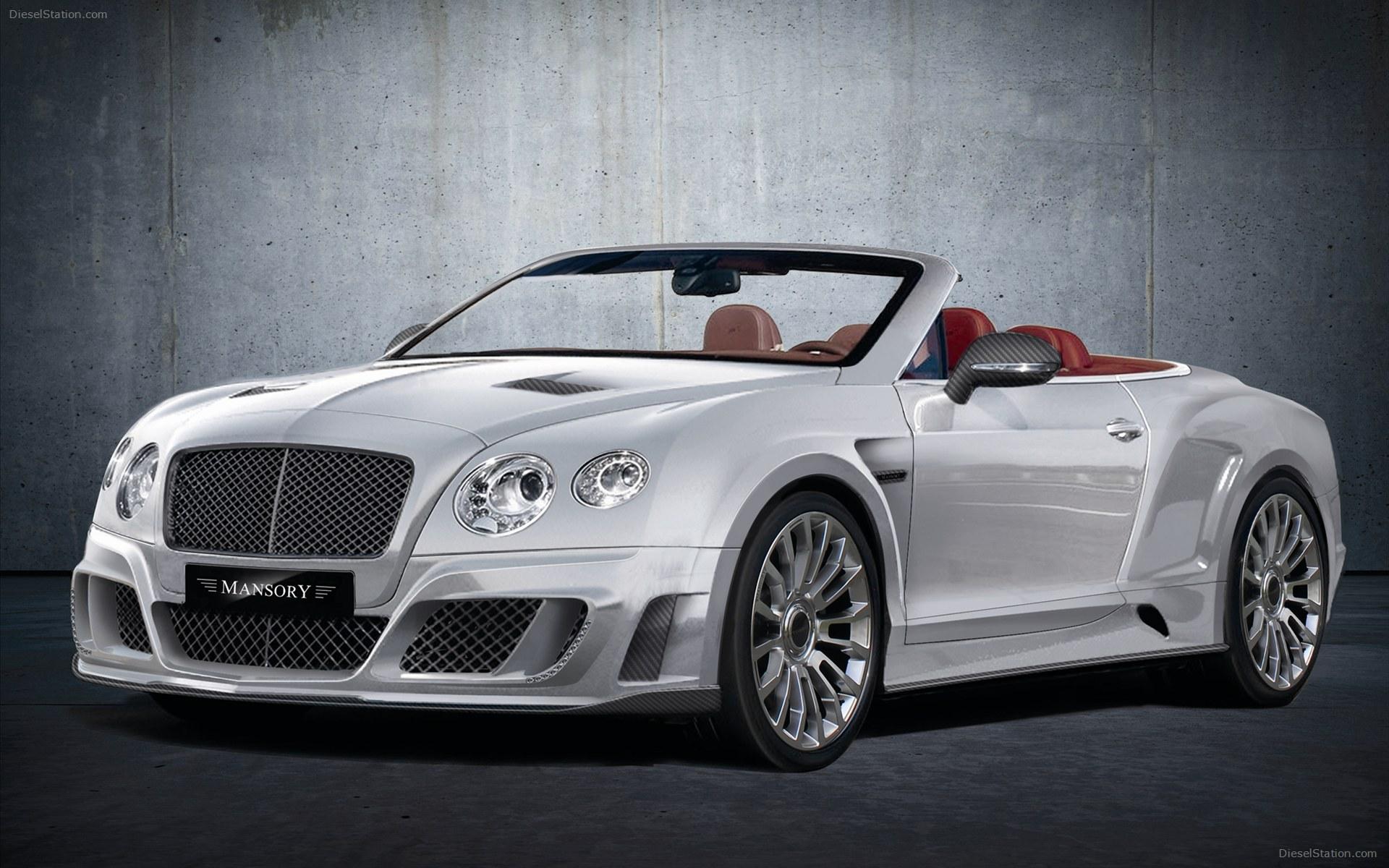 Mansory делает Bentley ещё роскошней